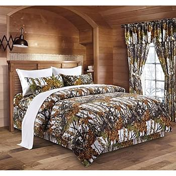 The Woods© Snow Licensed Bed Sheets - Full