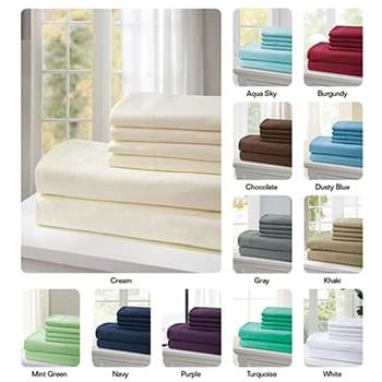 2100 Series Hotel Quality Sheet Set - King