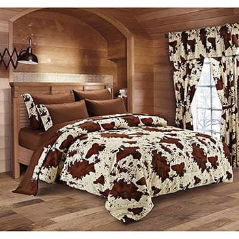 Chocolate Rodeo Print Sheet Sets - Full