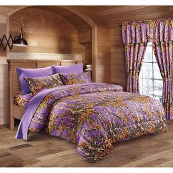 The Woods© Purple Licensed Bed Sheets - Full