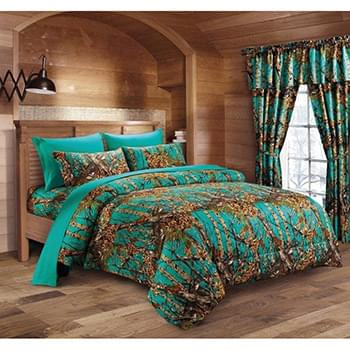 The Woods© Teal Licensed Bed Sheets - Twin