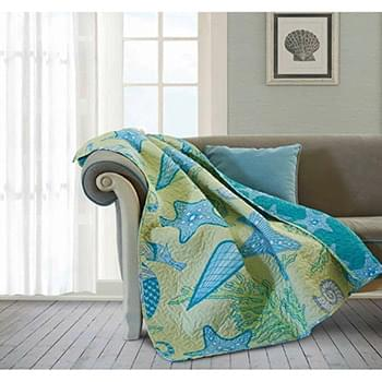Beach Dreams Quilted Throw