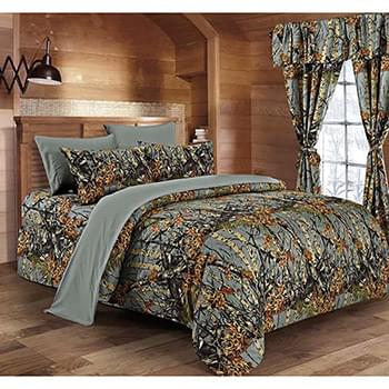 The Woods© Gray Licensed Bed Sheets - Full