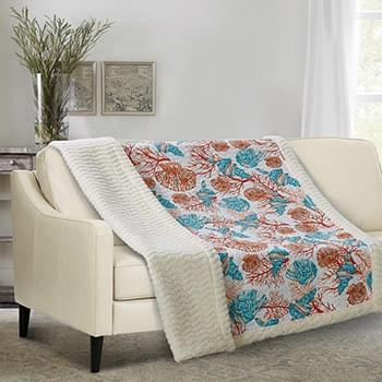 Beach Comber - Quilted Sherpa Throw