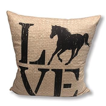 Horse Love  Accent Pillow