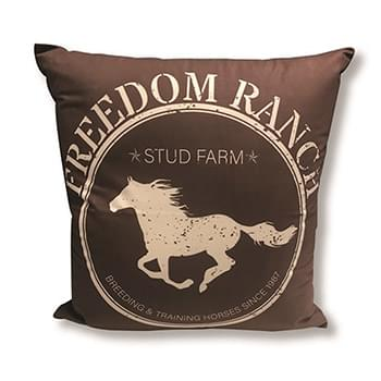 Freedom Ranch Brown  Accent Pillow