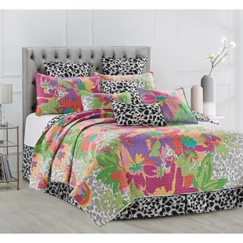 Angelina Printed Quilt Set