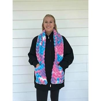 Cotton Candy Pocket Scarf
