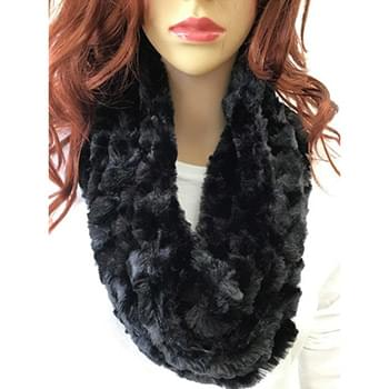 Rolling Hearts Infinity Scarf