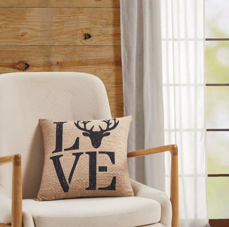 Deer Love  Accent Pillow