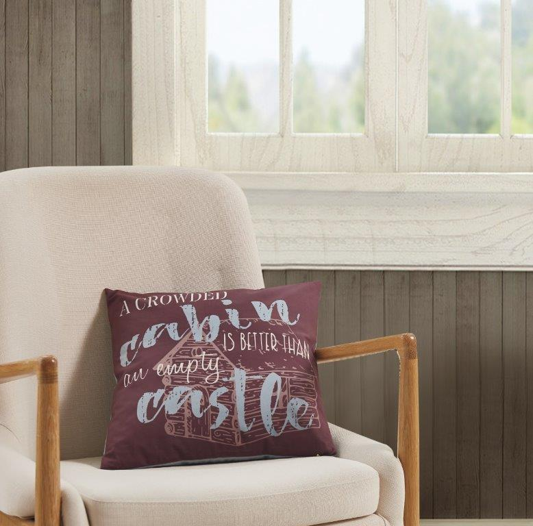 Cabin Rules  Accent Pillow