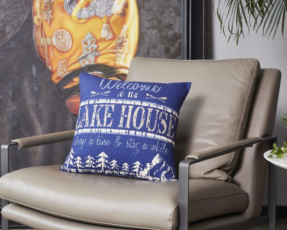 Welcome To The Lake House Rules  Accent Pillow