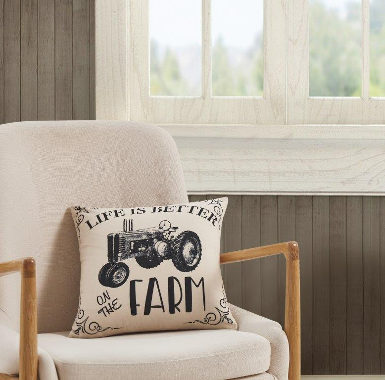 Life Is Better On The Farm  Accent Pillow
