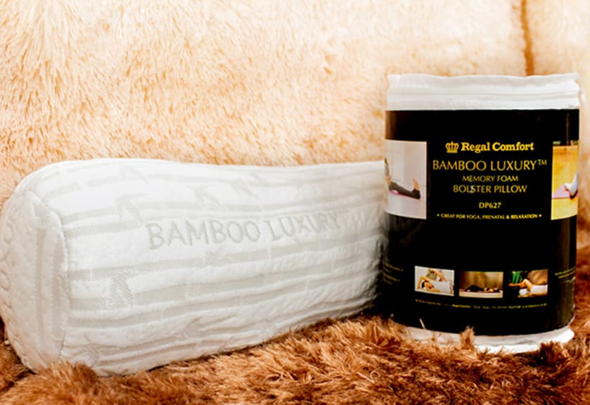 Bamboo Luxury Bolster Pillow