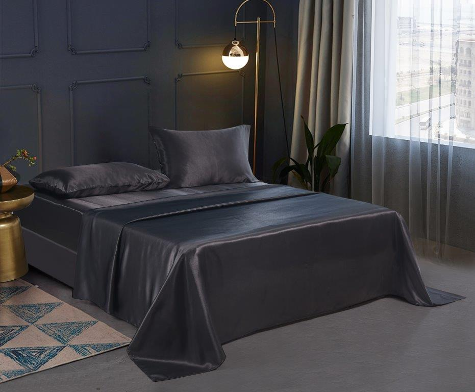 Silky Sheets Collection - Black