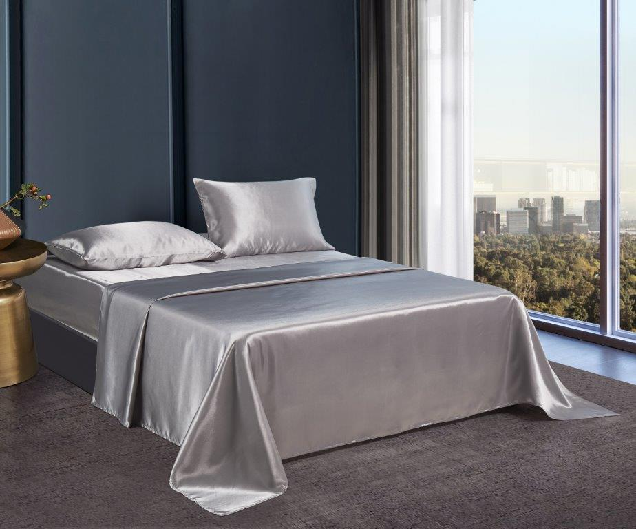 Silky Sheets Collection - Gray