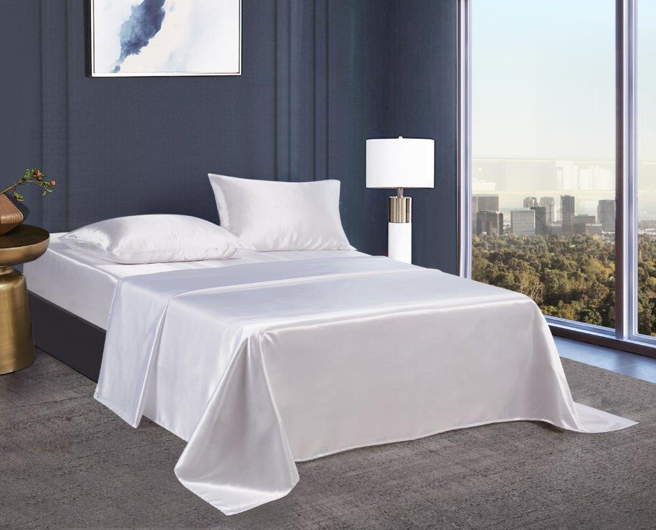 Silky Sheets Collection - White